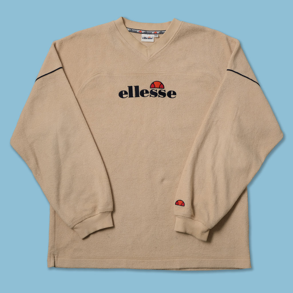 Vintage Ellesse V-Neck Fleece XLarge