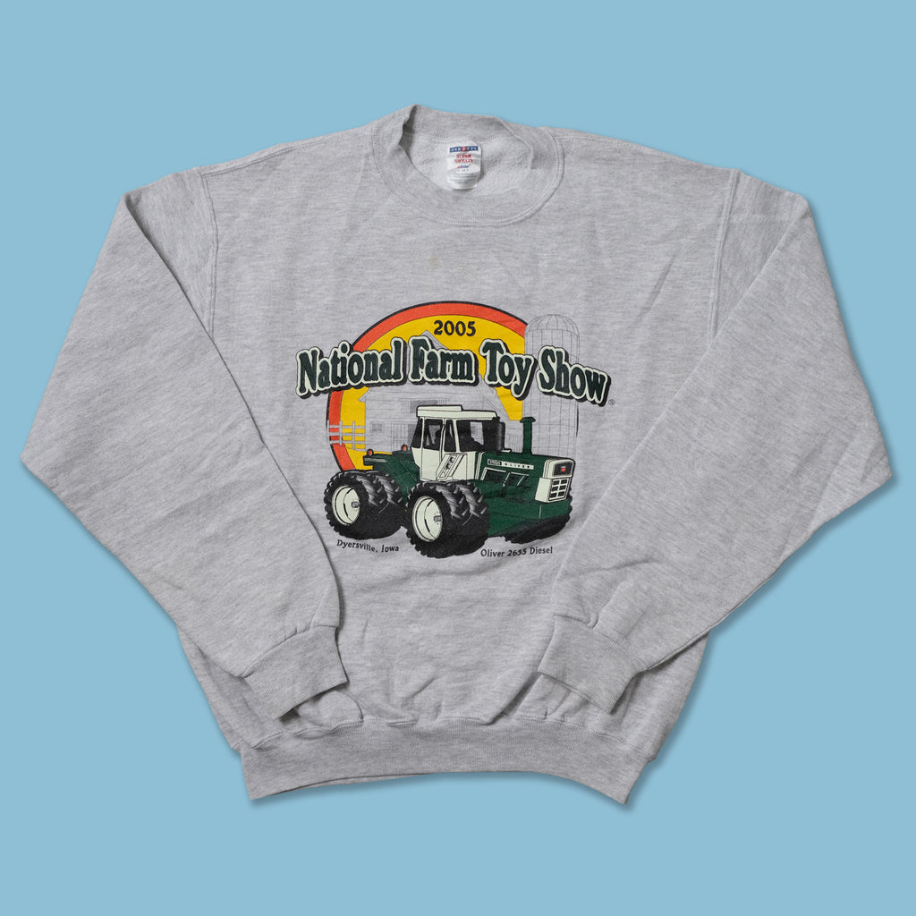 Vintage 2005 National Farm Toy Show Sweater Small
