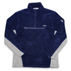 Vintage Fila Q-Zip Fleece Medium / Large