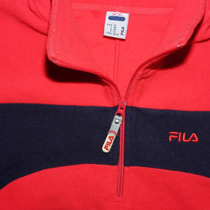 Vintage Fila Q-Zip Fleece XLarge