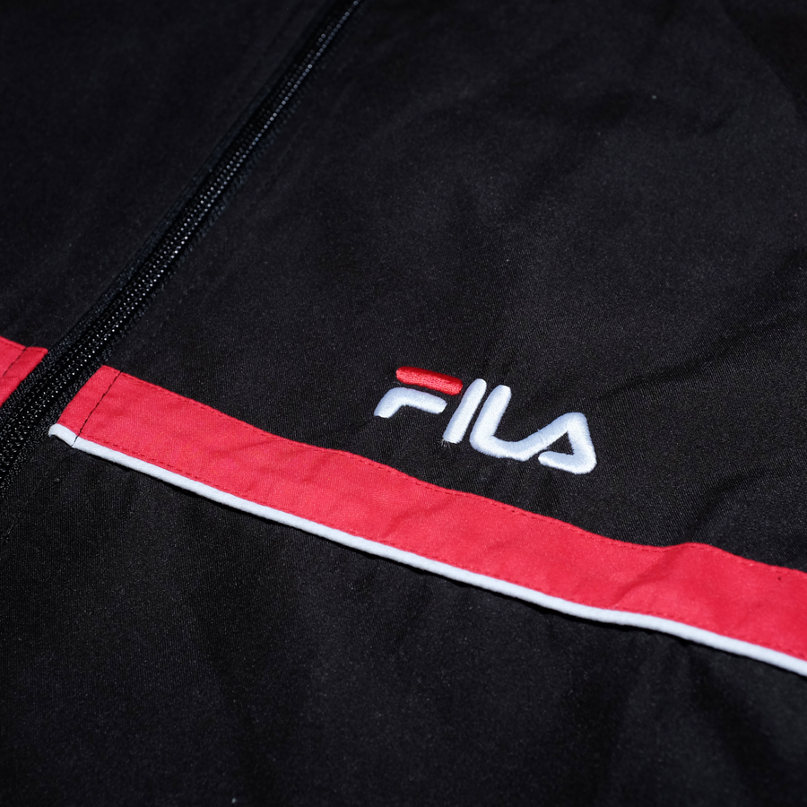 Vintage Fila Track Jacket Small - Double Double Vintage