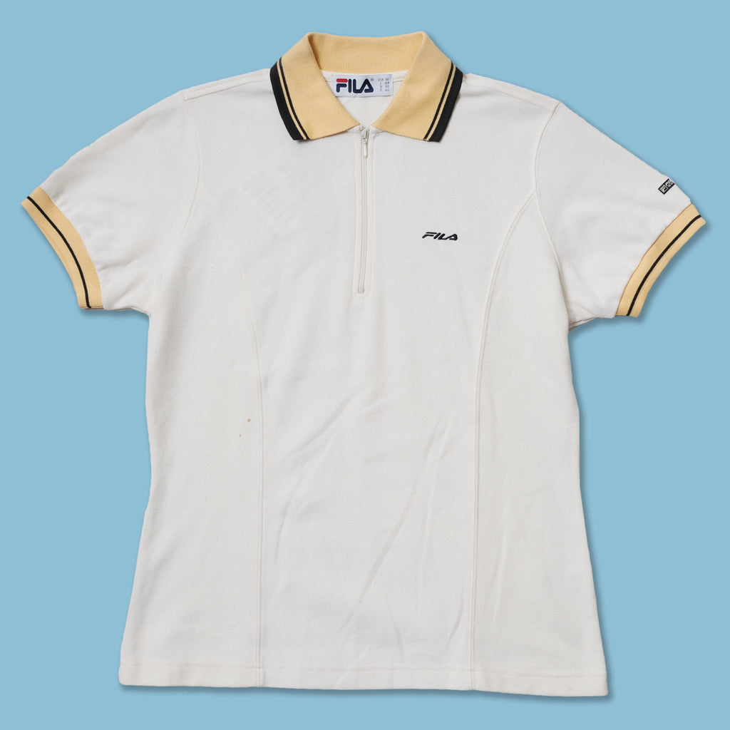 Vintage Deadstock Women's Fila Polo Medium