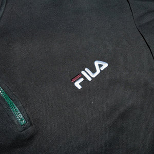 Vintage Fila Q-Zip Sweater Large