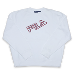Vintage Fila Logo Sweater Large