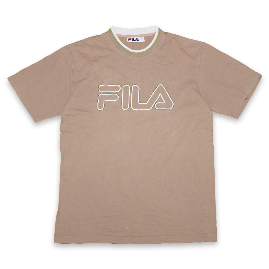 Vintage Fila Logo T-Shirt Medium / Large