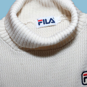 Vintage Fila Turtleneck Sweater XLarge