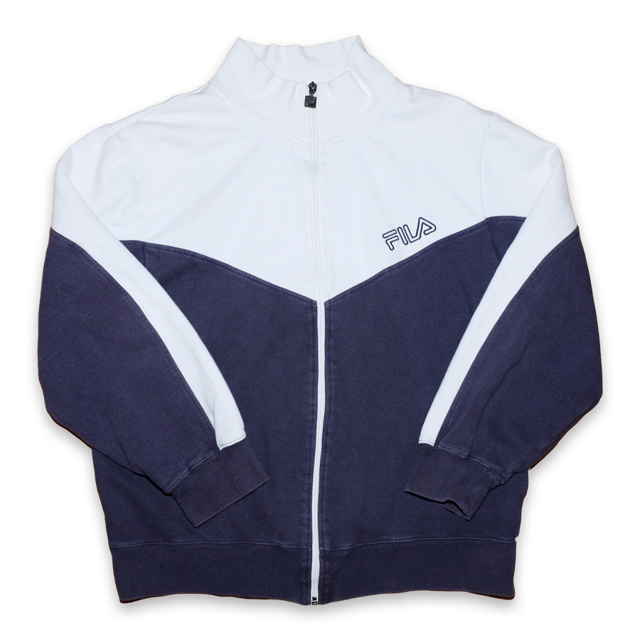Vintage Fila Zip Sweater Medium / Large