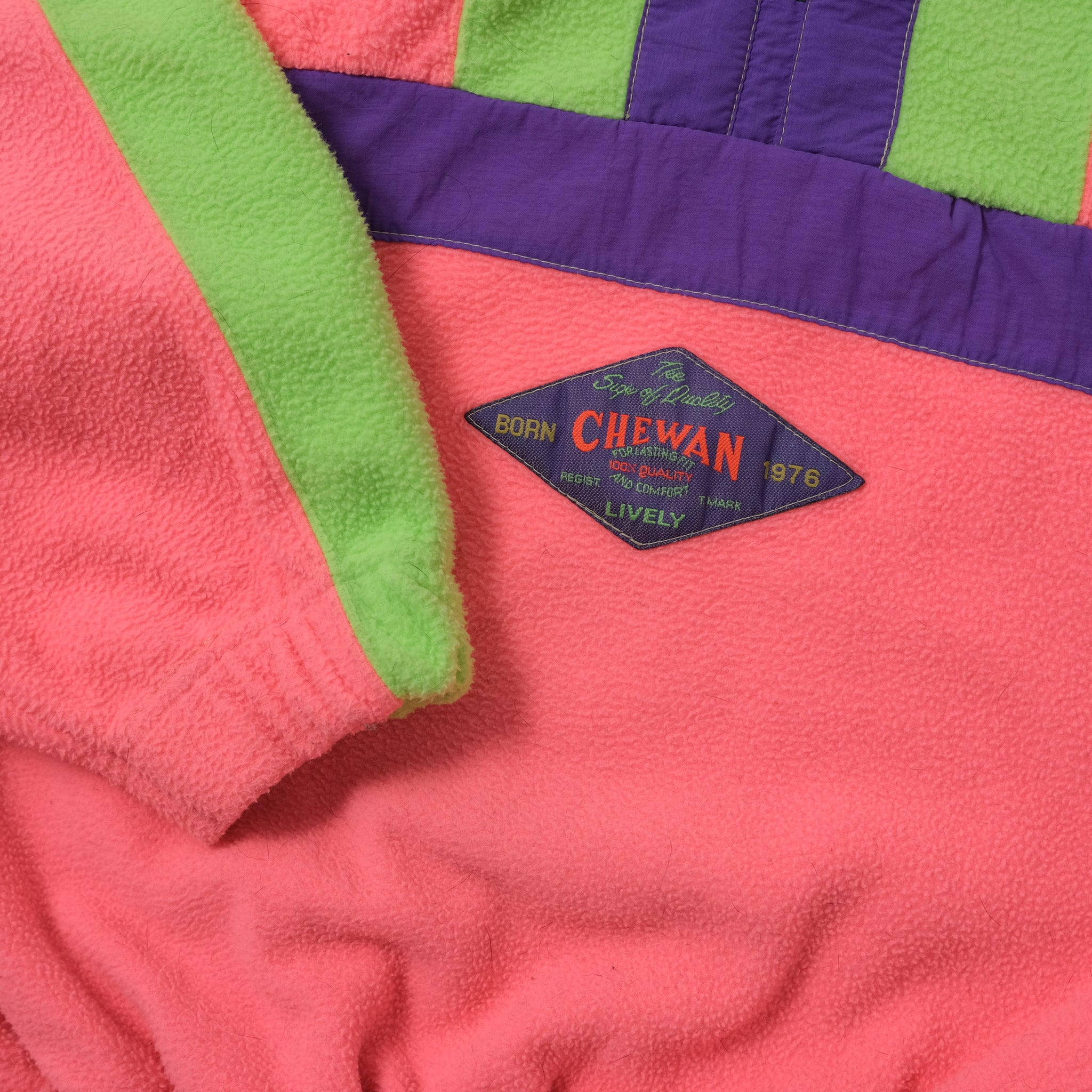 Vintage Q-Zip Fleece Medium