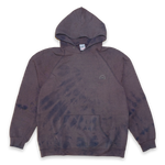 Fruit Of The Loom Hoody Bleach Large