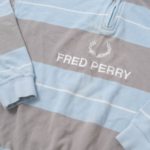 Vintage Fred Perry Q-Zip Sweater Small