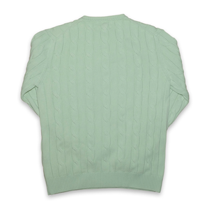 Vintage Gant Structured Sweatshirt Light Green