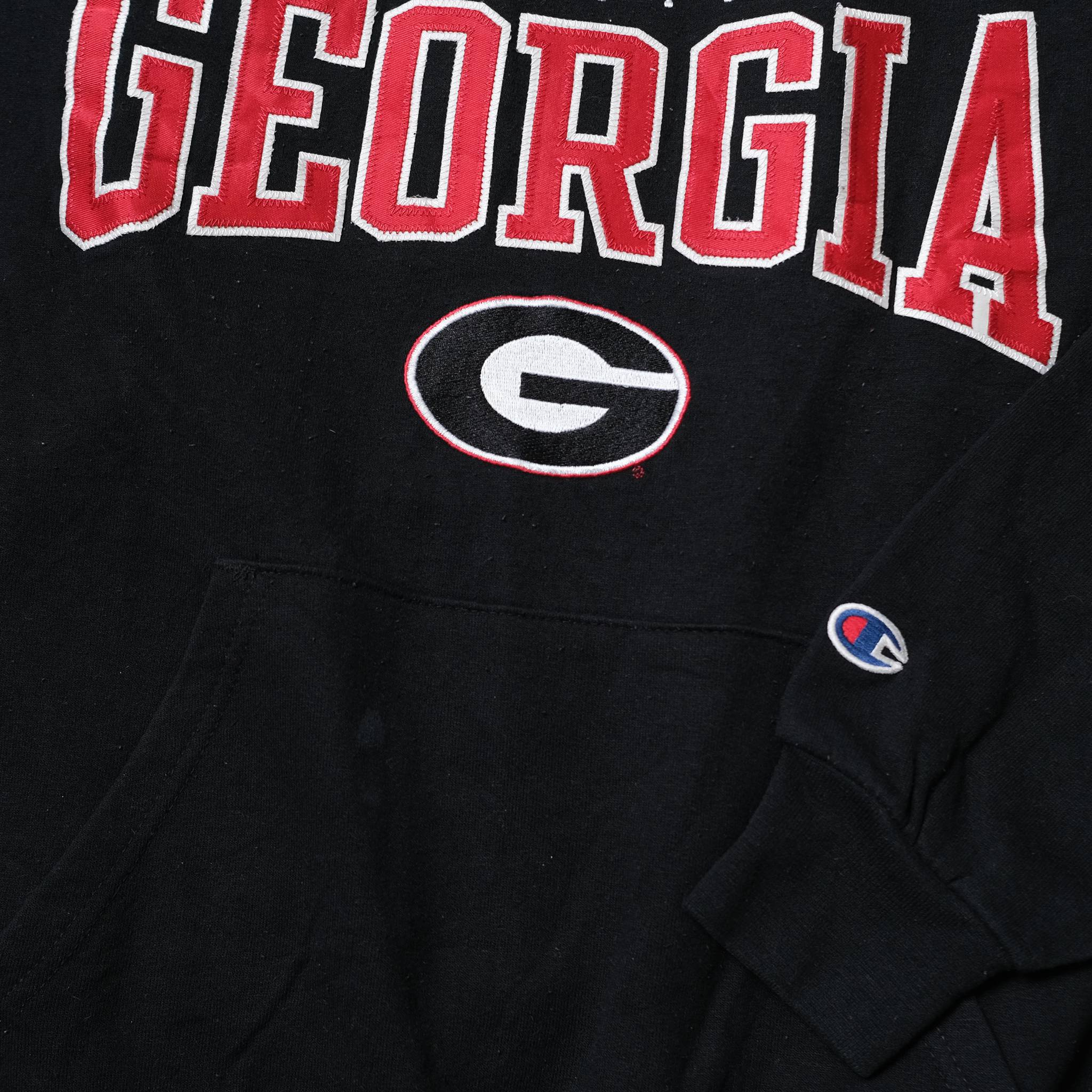 Vintage Champion Georgia Bulldogs Hoody Small