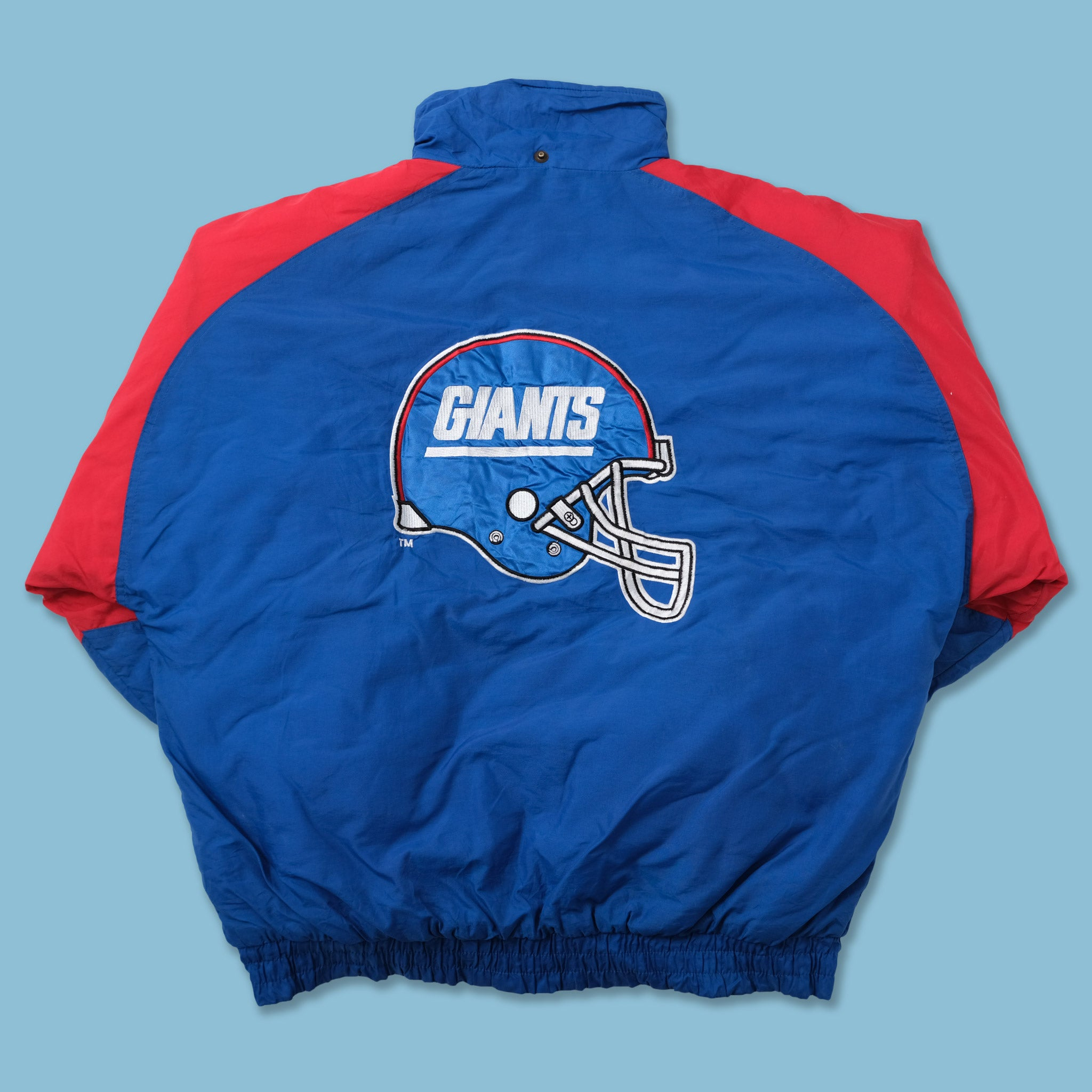 Vintage New York Giants Padded Jacket Large