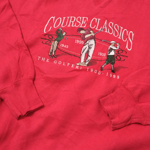 Vintage Course Classic Golf Sweater Large