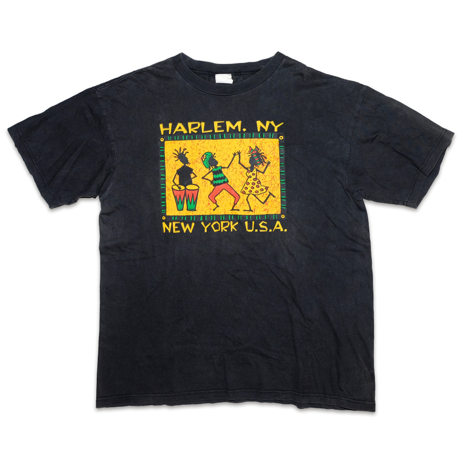 Vintage Harlem New York T-Shirt XLarge