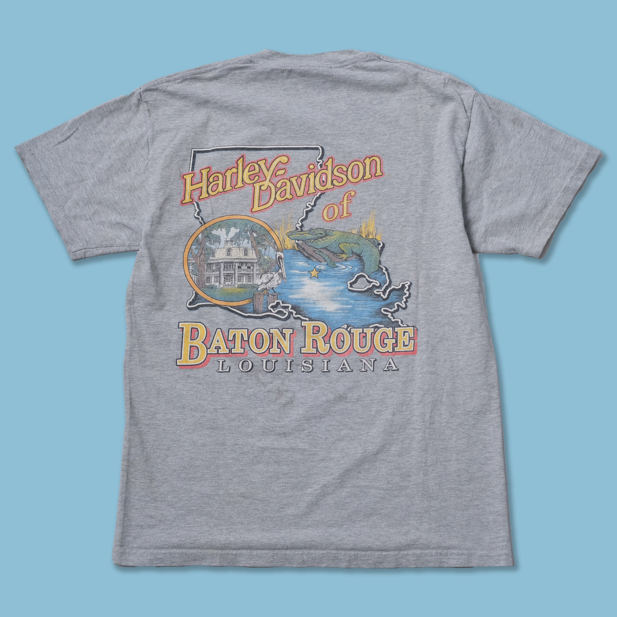 Harley Davidson Louisiana T-Shirt Medium