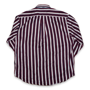 Vintage Tommy Hilfiger Striped Shirt Large - Double Double Vintage