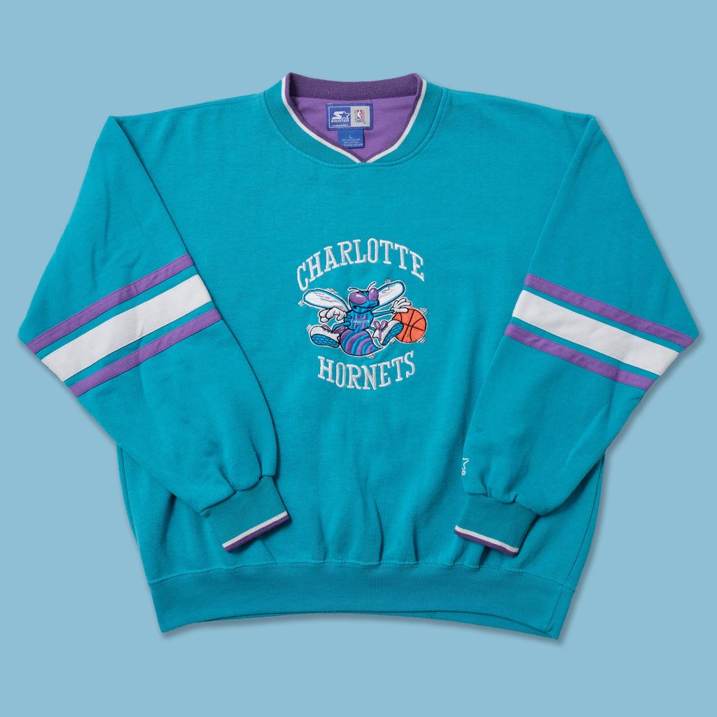 Vintage Starter Charlotte Hornets Sweater Medium / Large