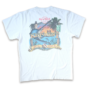 Hard Rock Cafe Key West T-Shirt Medium / Large - Double Double Vintage