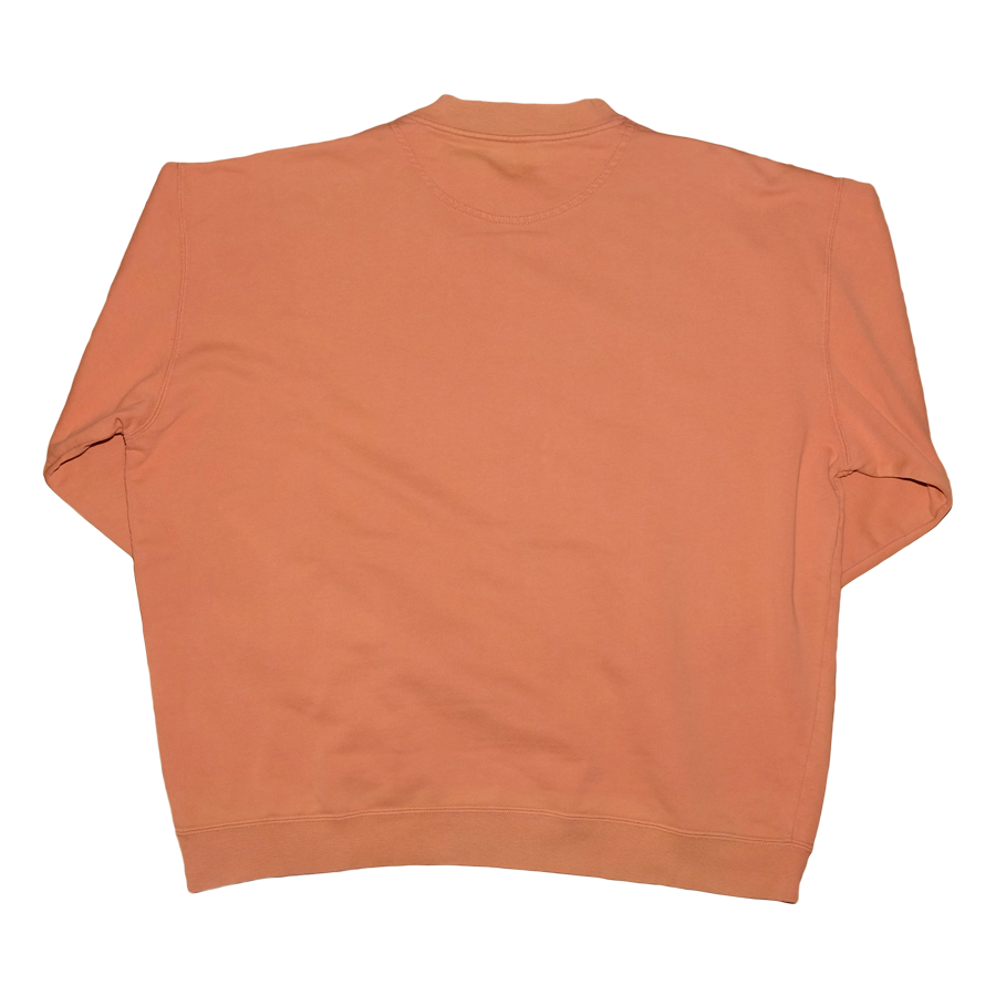 Vintage Hugo Boss Tonal Logo Sweatshirt / Logo embroidered / orange