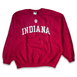 Indiana College Crewneck Large / XLarge