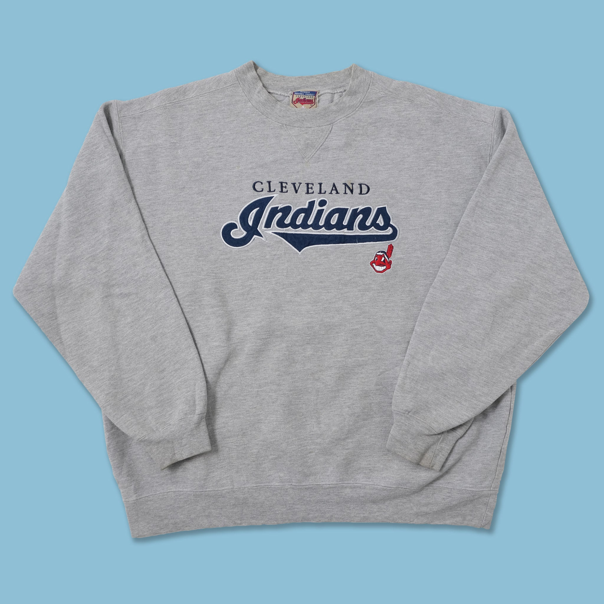Vintage Cleveland Indians Sweater Large
