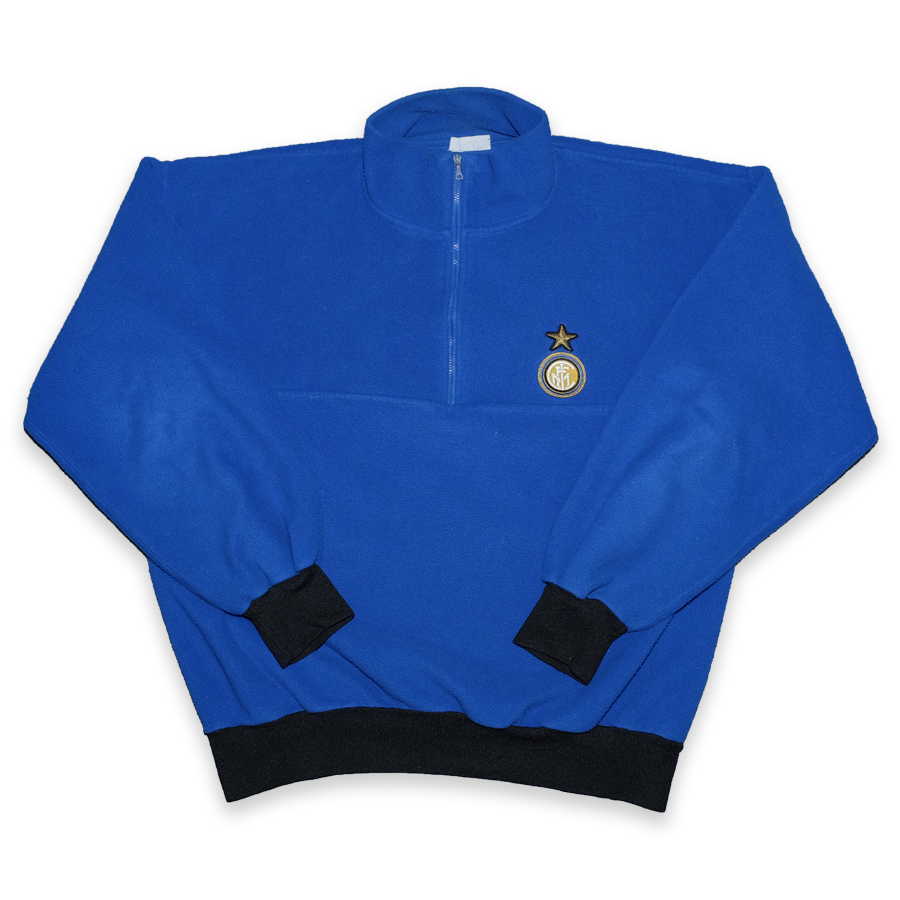 Vintage Inter Mailand Q-Zip Fleece Medium