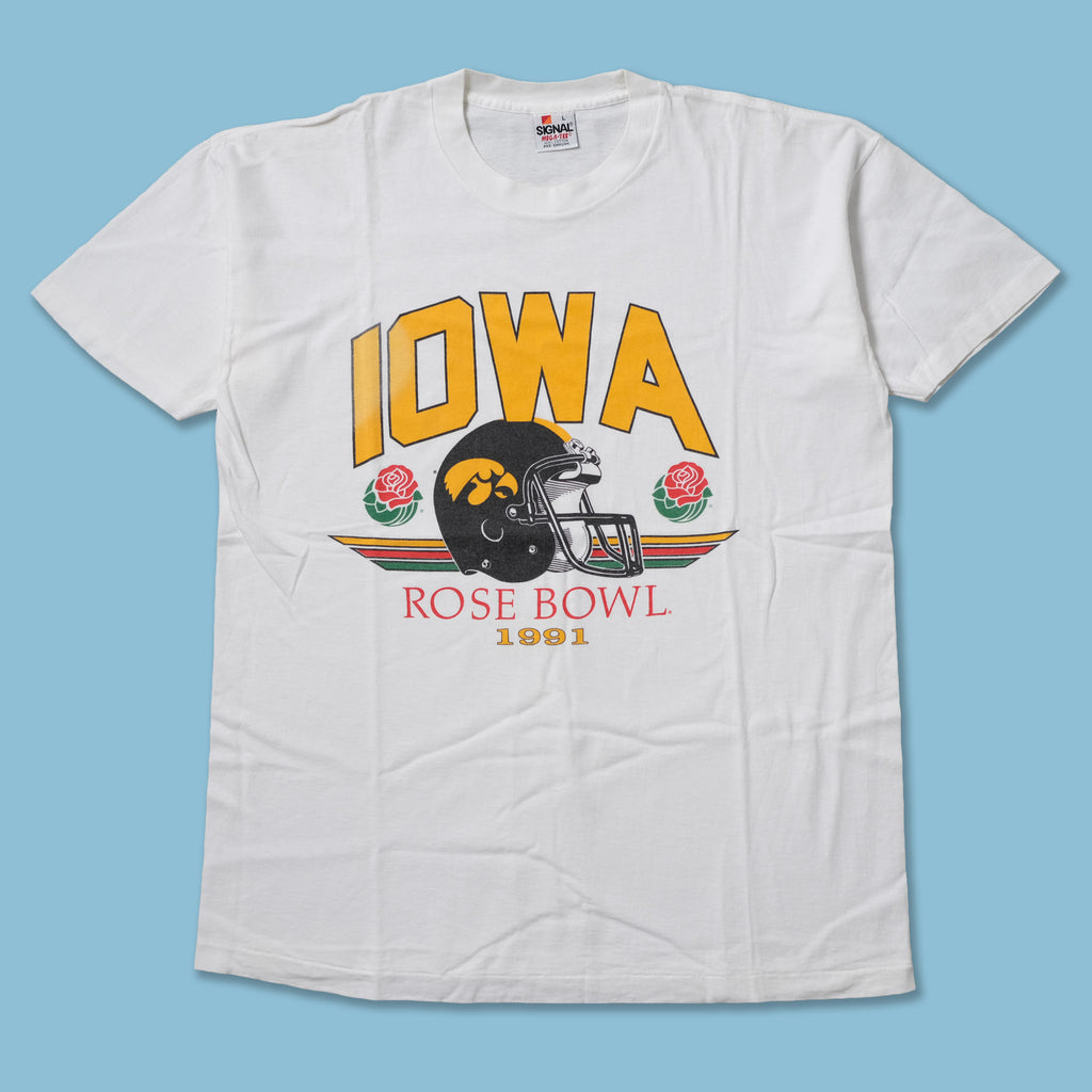 Vintage 1991 Iowa State Rose Bowl T-Shirt Large