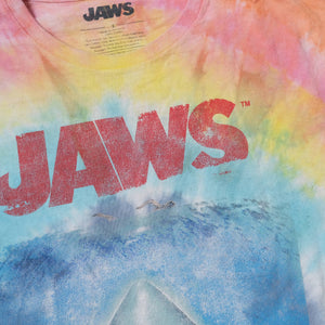 Vintage Jaws Tie Dye T-Shirt Large