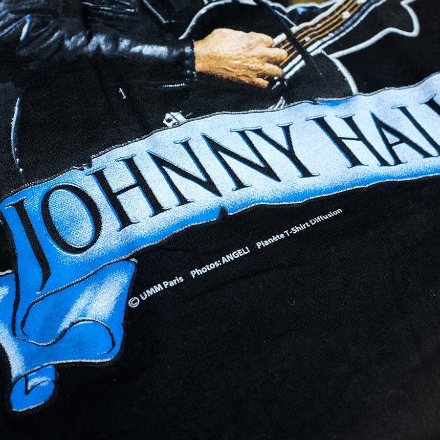 Rare 2003 Johnny Hallyday Tank Top XLarge
