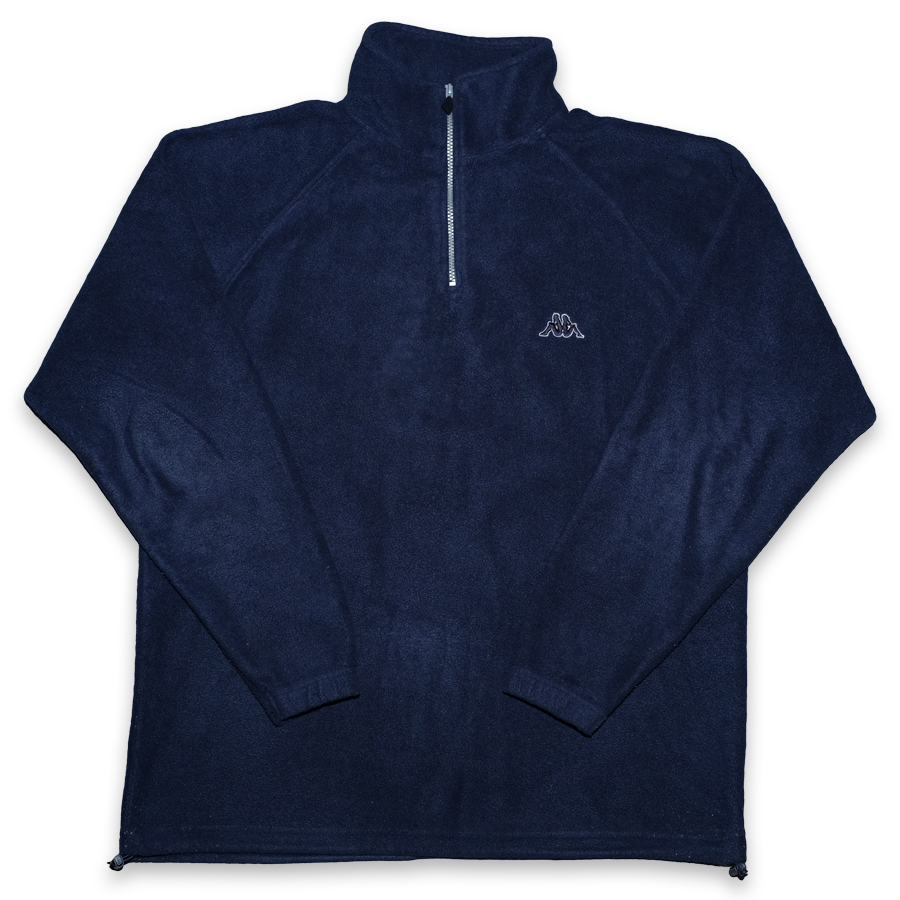 Vintage Kappa Q-Zip Fleece XLarge