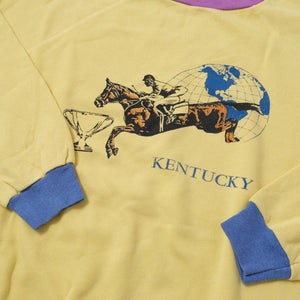 Vintage Kentucky Horse Race Sweater Large