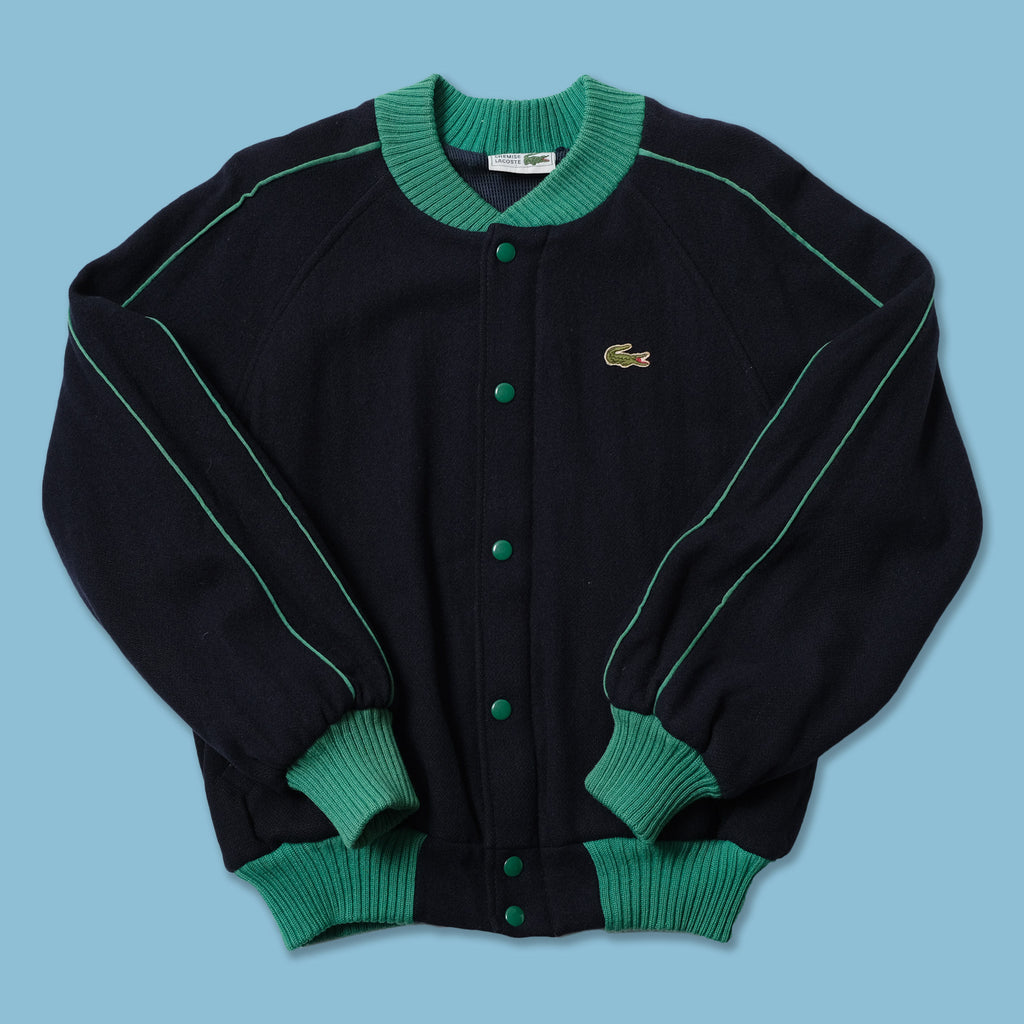 Vintage Lacoste Wool Bomber Jacket XS / Small
