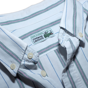 Lacoste Vertical Striped Shirt Medium