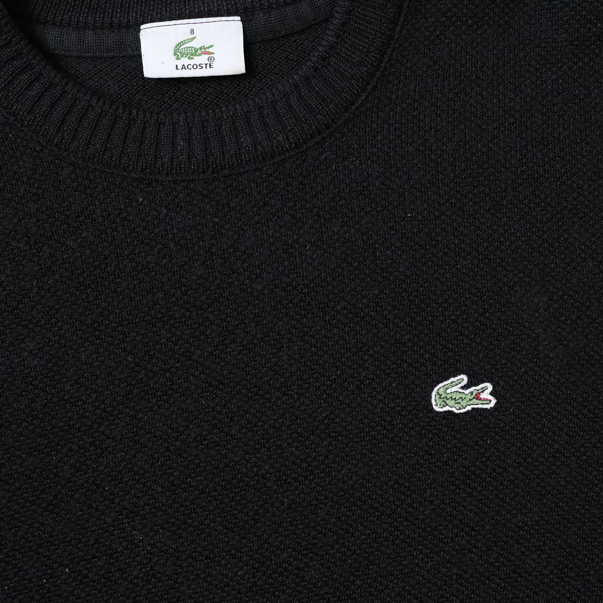 Vintage Lacoste Knit Sweater Medium