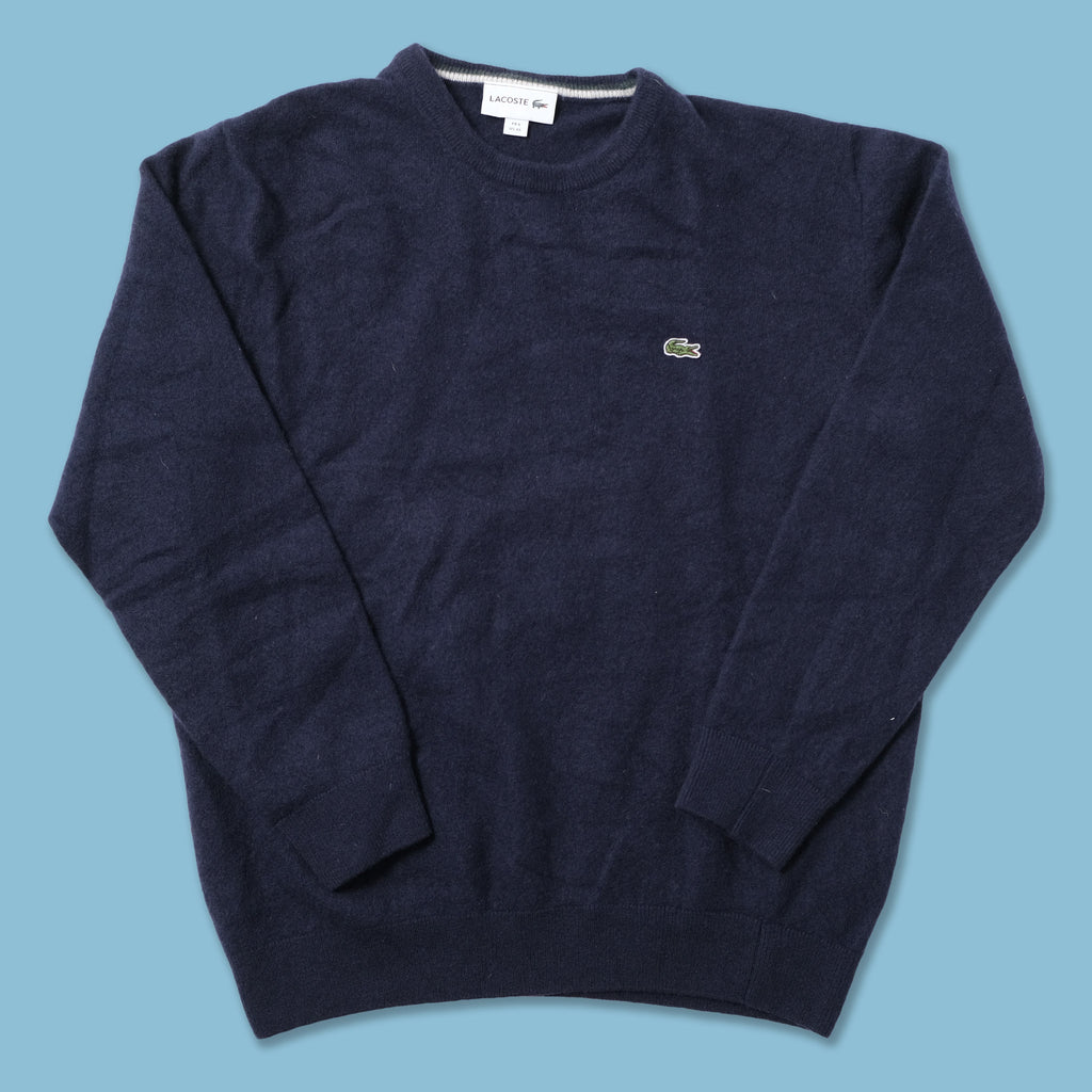 Vintage Lacoste Knit Sweater Small