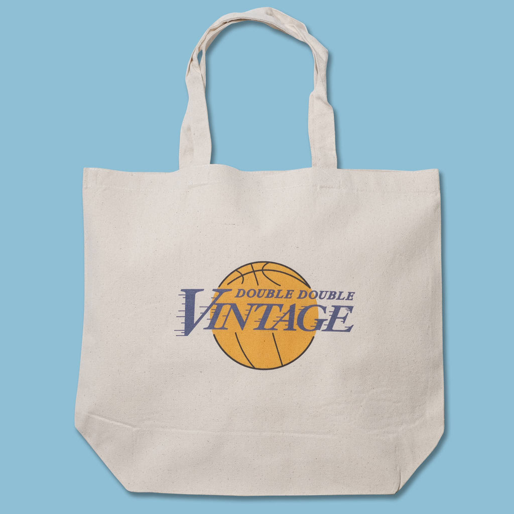 Double Double NBA Tote Bag Los Angeles Lakers