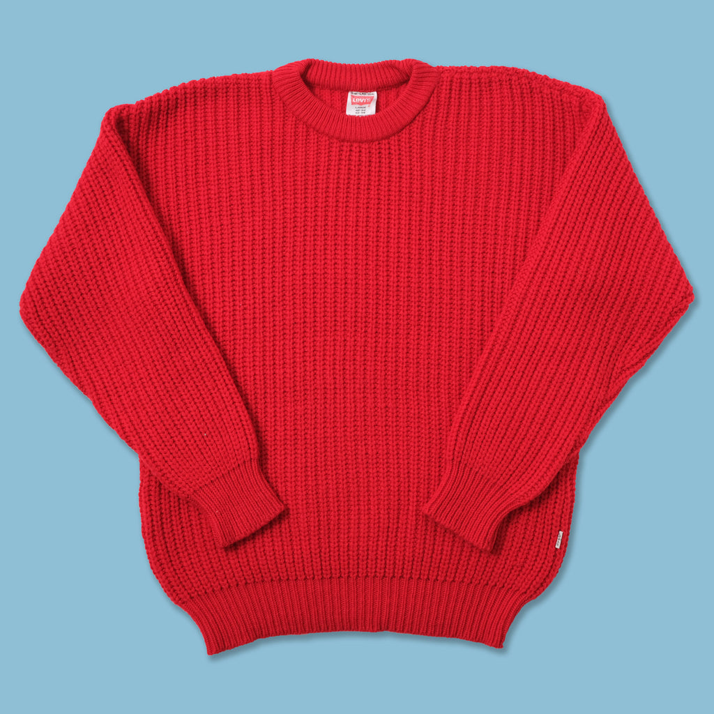 Vintage Levis Knit Sweater Large