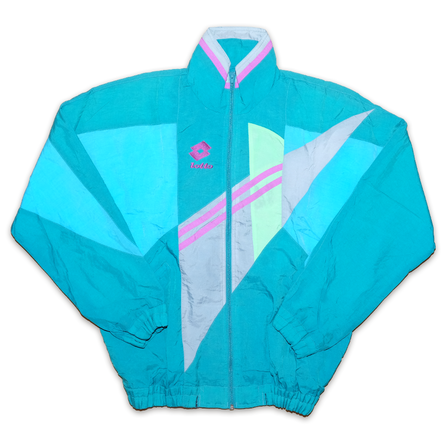 Vintage Lotto Trackjacket Large - Double Double Vintage