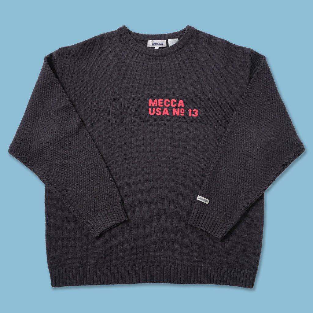 Vintage Mecca Knit Sweater XLarge
