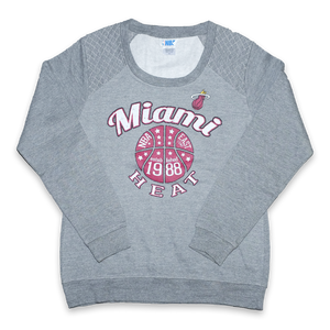Vintage Miami Heat Women's Sweater XLarge