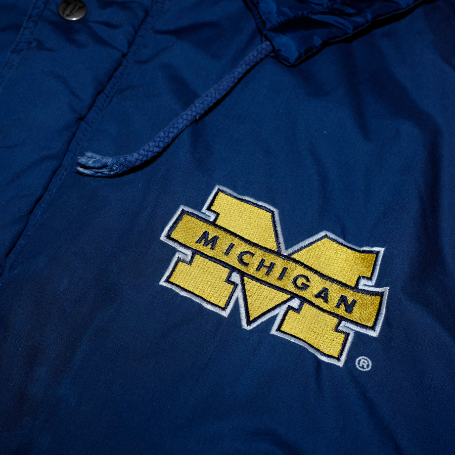 Vintage Twins Apparel Michigan Jacket (Official U.S College Collection)