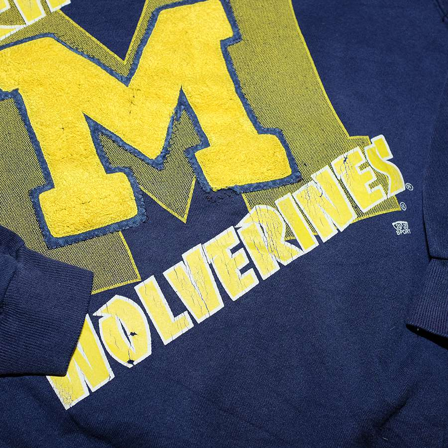 Vintage Michigan Wolverines Sweater Large