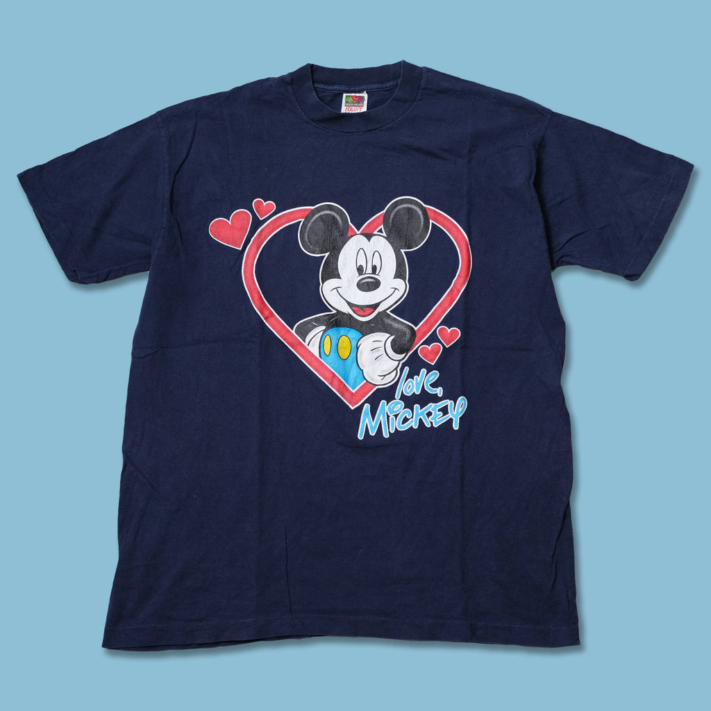 Vintage Mickey Love T-Shirt XLarge