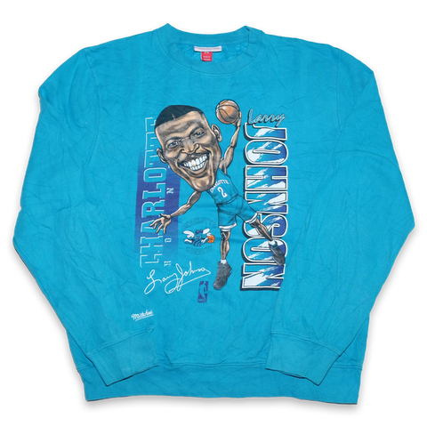 Mitchell and Ness Larry Johnson Sweater Medium