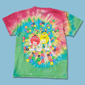 Vintage M&M Tie Dye T-Shirt Large