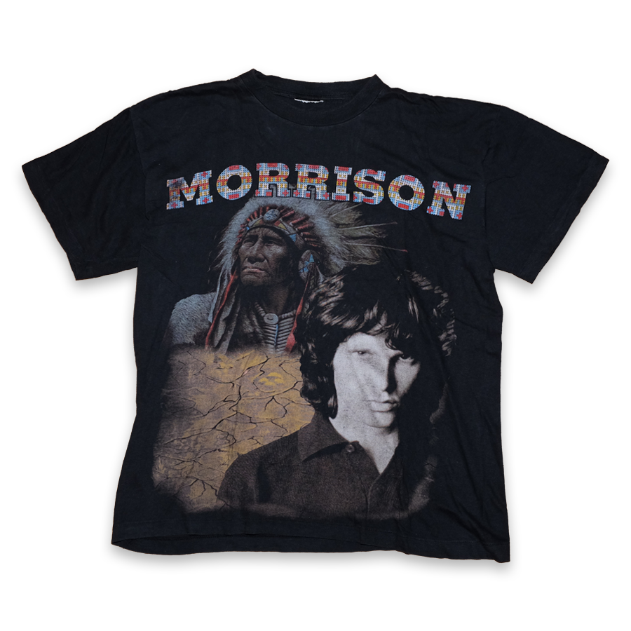 Vintage Jim Morrison T-Shirt Medium - Double Double Vintage
