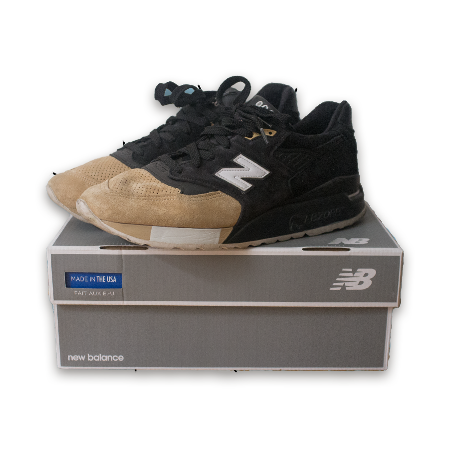New Balance x Premierskate 998 Sneakers /  Made in USA
