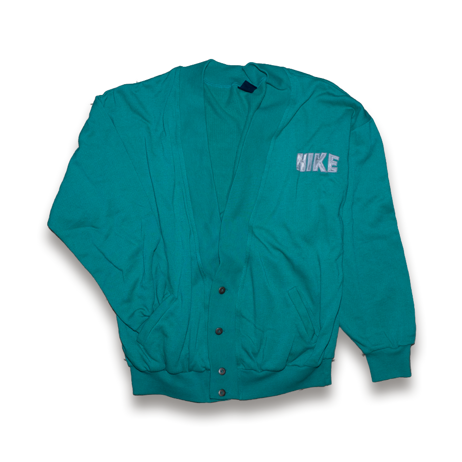 80s Nike Cardigan (Blue Tag) Large