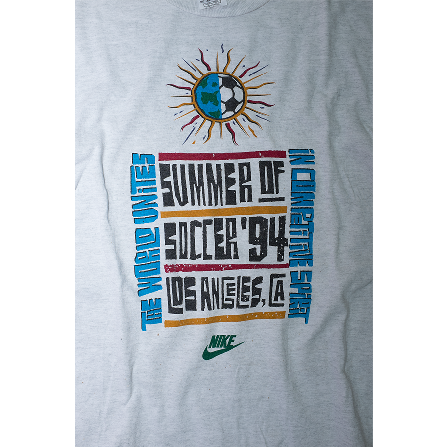 Nike Soccer Summer of 94 T-Shirt Medium - Double Double Vintage